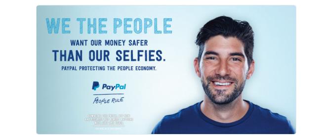 Publicité Paypal contre Apple ©  Twitter