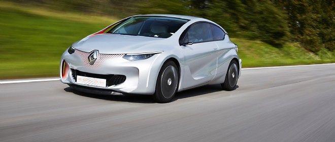 Le démonstrateur Renault Eolab s'impose d'emblée comme une des stars du Mondial de l'automobile avec sa consommation officielle annoncée de moins d'un litre aux 100 km.