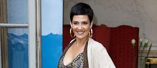 Cristina Cordula, la styliste-star de la télévision française. ©THOMAS SAMSON / AFP