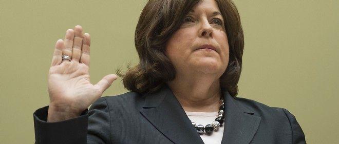 Julia Pierson, la directrice du service d'élite de protection du président américain, le 30 septembre 2014.