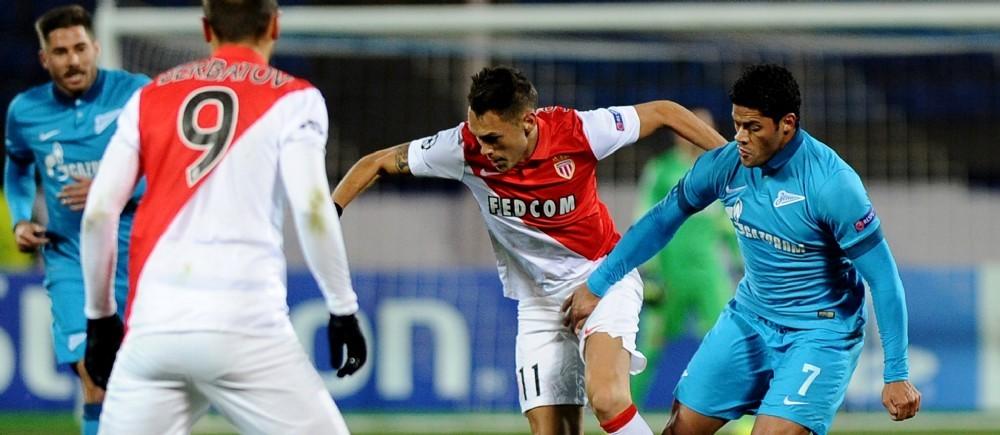 Ni Berbatov, ni Ocampos, ni Hulk n'ont su trouver la faille dans ce Zenit-Monaco achevé sur un score nul et vierge (0-0).