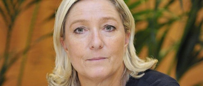 La presidente du Front national, Marine Le Pen, le 2 octobre 2014.