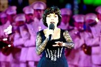 Mireille Mathieu ici lors d'un concert à Moscou en juillet 2014. ©Sefa Karacan / Anadolu Agency