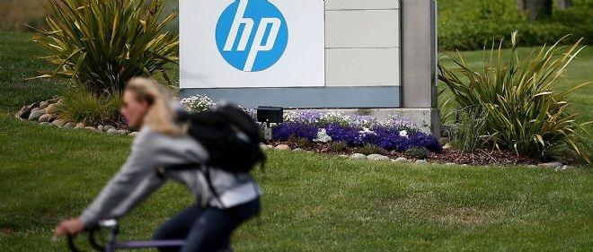 Photo d'illustration. Le siège de Hewlett-Packard, à Palo Alto, en Californie.