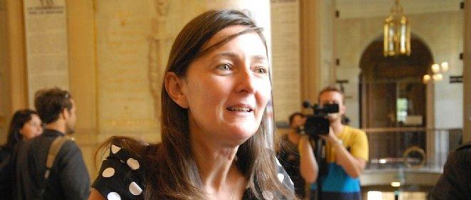La parlementaire socialiste Karine Berger, ici à l'Assemblée.
