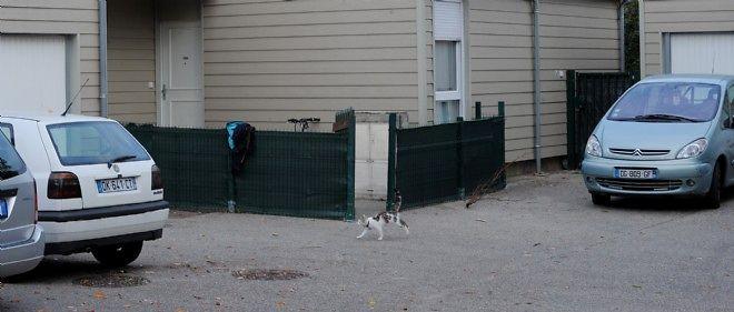La maison d'Aissa Saidi, 15 ans, interpellée le 4 octobre à Marseille.