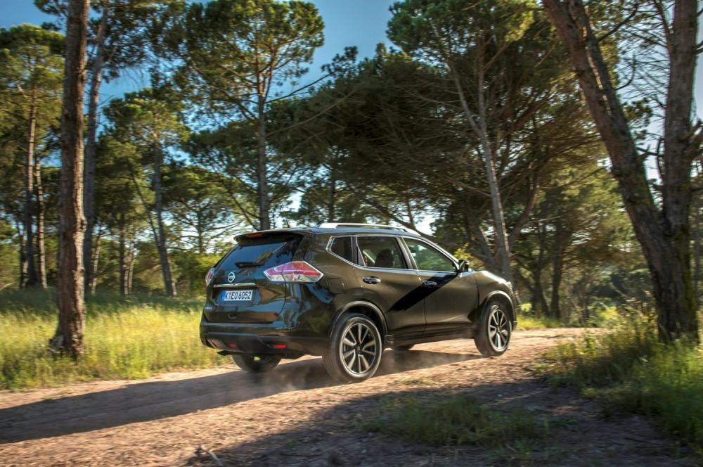 Le X-Trail pourra s'elancer dans le tout chemin, même en deux roues motrices ©  Nissan