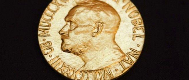 La médaille récompensant le prix Nobel de la paix.