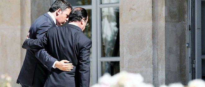 François Hollande et Matteo Renzi, en juin dernier à l'Élysée.