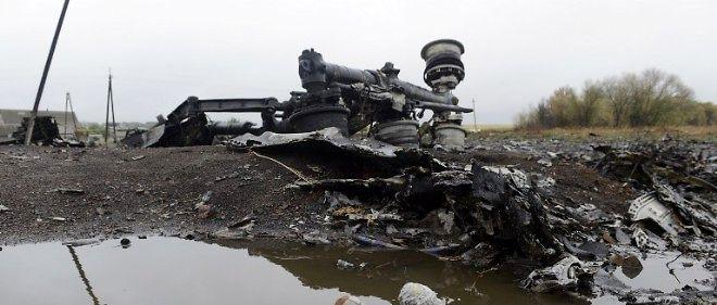 Les débris du 777 de la Malaysia Airlines (photo d'illustration).