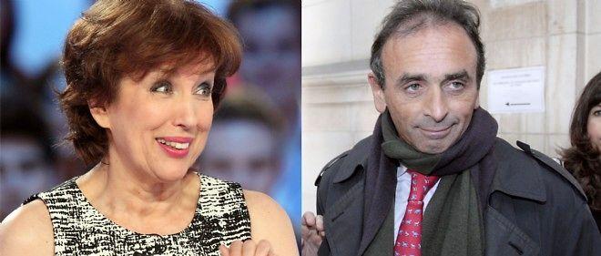Roselyne Bachelot et Éric Zemmour.