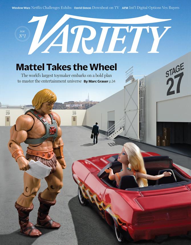 Les jouets de Mattel bientôt à l'écran ©  Variety