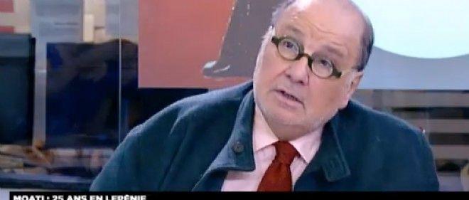 """À l'occasion de la diffusion de son documentaire """"Adieu à Le Pen"""", Serge Moati était l'invité d'Audrey Crespo-Mara sur LCI."""