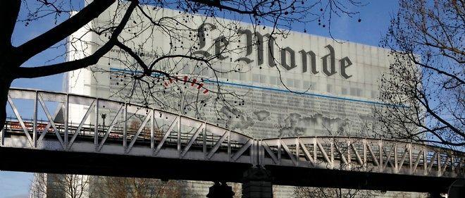 """Deux journalistes du """"Monde"""" mis en cause par """"Valeurs Actuelles""""."""