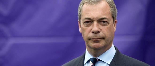 Le groupe ELDD a été constitué après les élections européennes de mai par l'alliance entre les 24 élus de l'Ukip dirigés par Nigel Farage (photo) et les 17 élus du Mouvement 5 étoiles de l'europhobe italien Beppe Grillo.