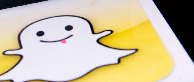 Le logo de Snapchat.