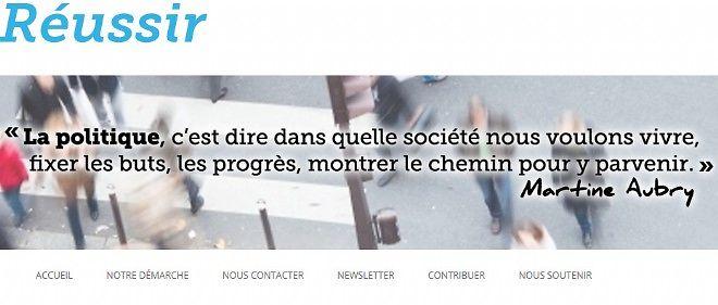 Martine Aubry est la première signataire de ce texte collectif rédigé à l'occasion des états généraux du PS.