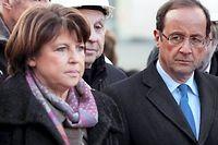 Martine Aubry dit enfin tout ce qu'elle pense de la stratégie économique de François Hollande et Manuel Valls. ©JEAN-CHRISTOPHE VERHAEGEN