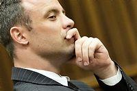 C'est ce mardi qu'Oscar Pistorius doit être fixé sur son sort. ©MARCO LONGARI / POOL / AFP