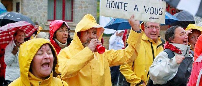 Manifestation des Groisillons, le 6 octobre dernier à Vannes.