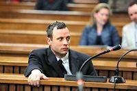 Oscar Pistorius condamné à 5 ans de prison. ©Alon Skuy