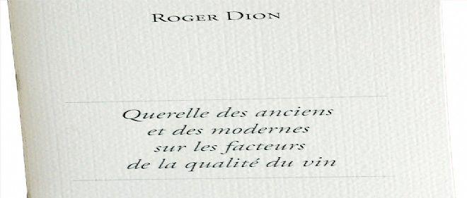 """Extrait du recueil """"Le Paysage est la vigne"""" de Roger Dion."""