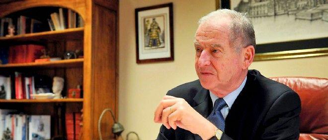 Éric de Montgolfier, ancien procureur de la République du TGI de Nice, ici en 2011 dans ses bureaux.