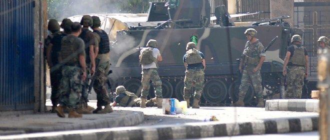 L'armée libanaise a lancé l'assaut contre les islamistes en plein centre-ville.