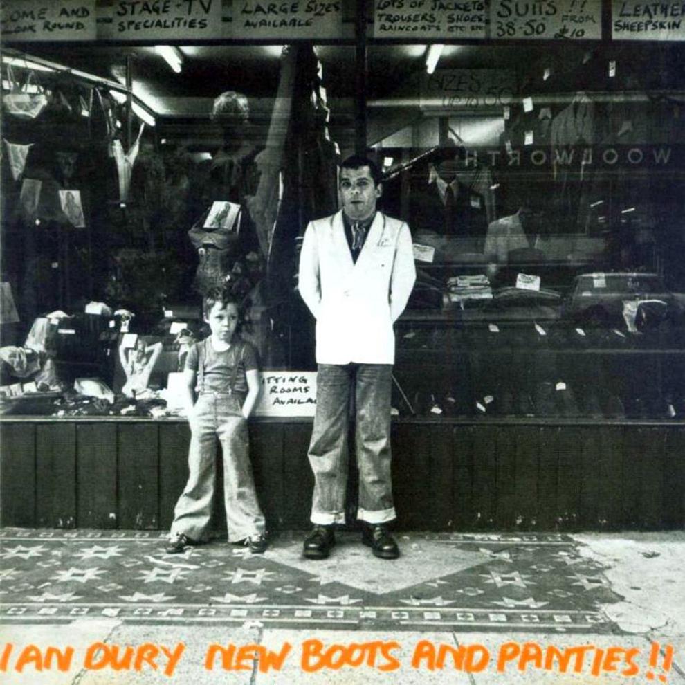La pochette de New Boots and Panties !!