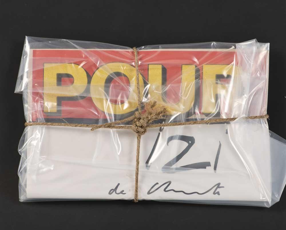 Magasine POUR emballé, 1975, par Christo