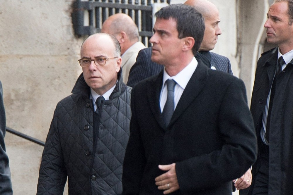 Manuel Valls et Bernard Cazeneuve