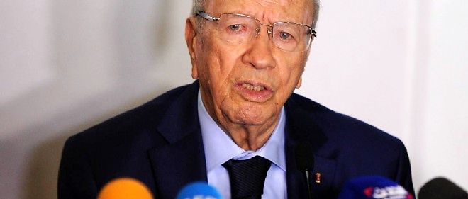 Beji Caid Essebsi serait arrive en tete des legislatives.