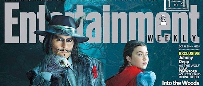 Johnny Depp se grime en grand méchant loup.