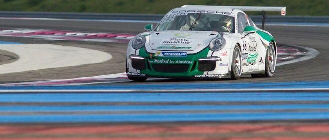 Le pilote lyonnais Côme Ledogar a su tirer le meilleur parti de sa 911 pour remporter la finale de la Carrera Cup française sur le circuit du Castellet.