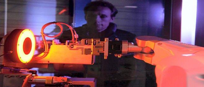 Les robots industriels de la PME stéphanoise Siléane on su s'imposer sur un marché très concurrentiel.