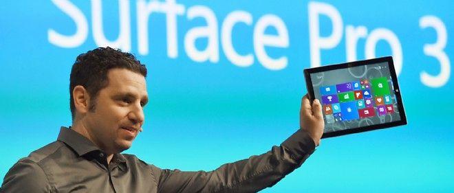 Panos Panay, vice-président de Microsoft responsable de la division Surface, doit jubiler.
