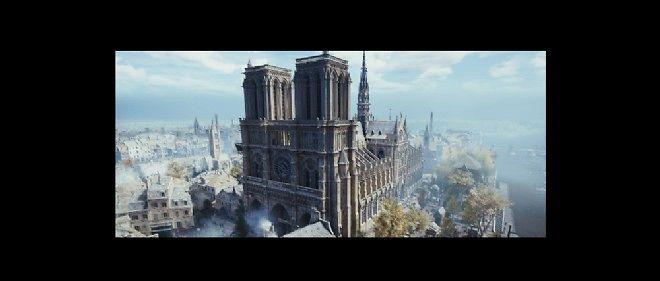 Assassin's Creed Unity : Notre-Dame comme vous ne l'avez jamais vue