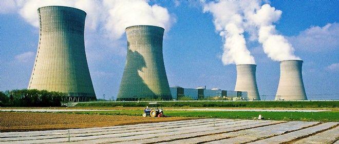La centrale nucléaire de Dampierre.