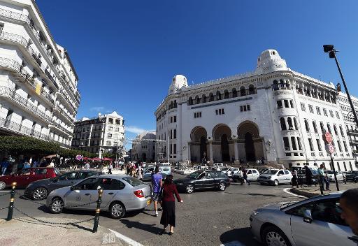 La Grande Poste d'Alger, le 29 octobre 2014 ©  AFP