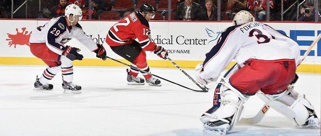 Un match de hockey sur glace, photo d'illustration.