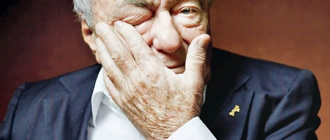 Claude Lanzmann le 10 octobre à Paris.