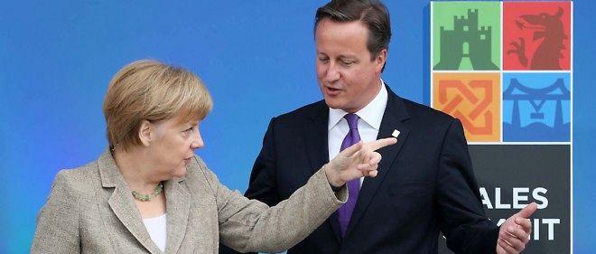 """UE : pour Merkel, Cameron s'approche du """"point de non-retour"""""""
