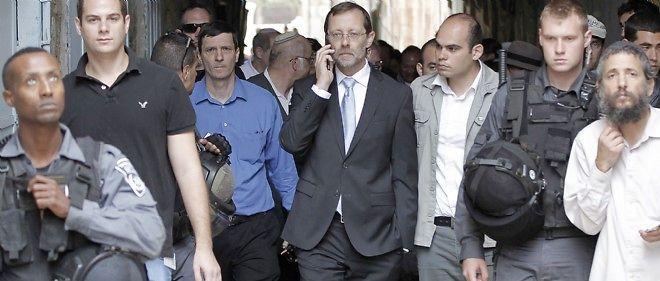 Le député Moshé Feiglin est passé outre un appel à la retenue lancé par le Premier ministre Benyamin Netanyahou et s'est rendu sur l'esplanade des Mosquées.