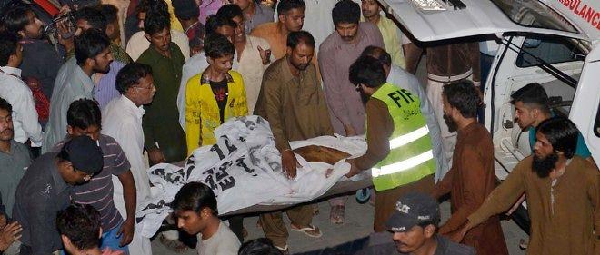Pakistan : plus de 50 morts dans un attentat