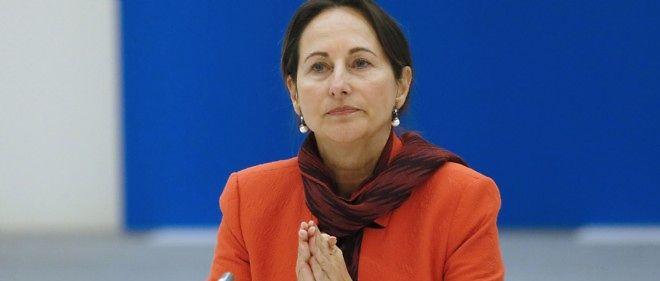 La ministre de l'Écologie et de l'Énergie Ségolène Royal.
