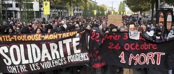 À Nantes, samedi 1er novembre, la manifestation en mémoire à Rémi Fraisse a donné lieu à des violences.