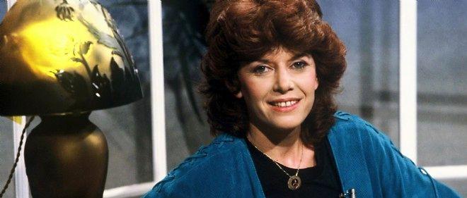 Soizic Corne en 1982, alors qu'elle est présentatrice sur TF1.
