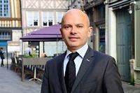 Jean-François Bures, président du groupe municipal UMP. ©Éric Benard / Andia