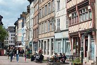 Le centre ville, toujours prisé, résiste mieux à la baisse. ©Éric Bénard/Andia