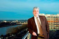 Christian Hérail, président de la CCI de Rouen. ©Benoit DECOUT/REA